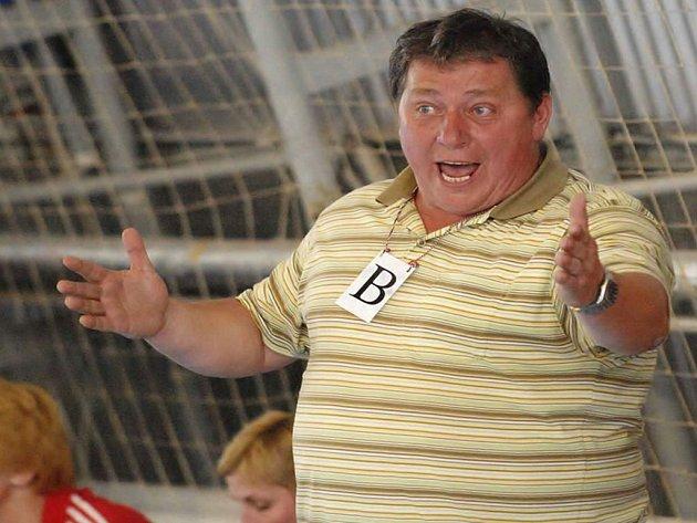 Trenér Josef Keclík.