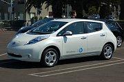 Nissan Leaf na elektřinu je třetím nejprodávanějším v Ruské federaci.