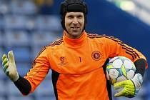 Gólman fotbalistů Chelsea Petr Čech.