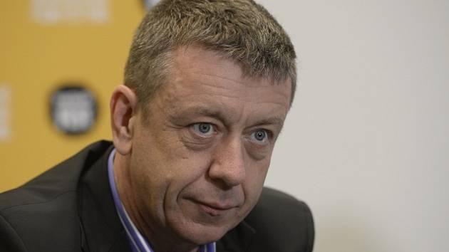 Scenárista Peter Morgan vystoupil 24. března v Praze na tiskové konferenci v rámci 21. ročníku mezinárodního festivalu filmů Febiofest.