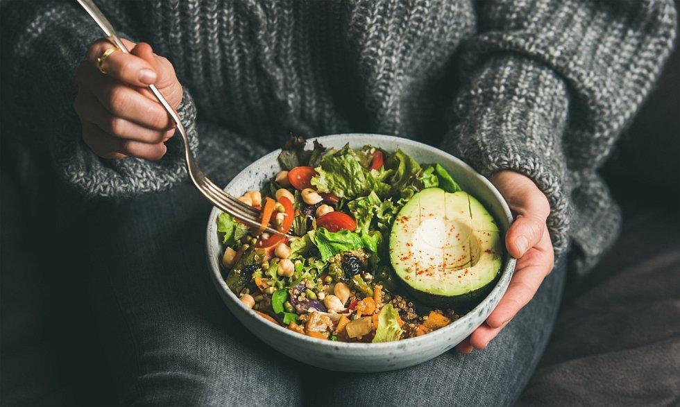 Veganský salát