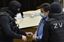Jeden z obžalovaných Marian Kočner v síni slovenského nejvyššího soudu