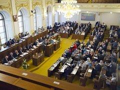 Poslanecká sněmovna. Ilustrační foto.