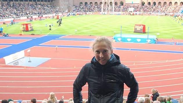 Triatlonistka Vendula Frintová zavítala na atletickou Diamantovou ligu do Stockholmu.