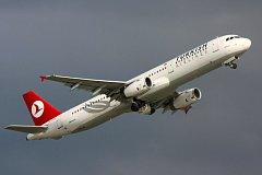 Airbus A321 Turkish Airlines. Ilustrační foto