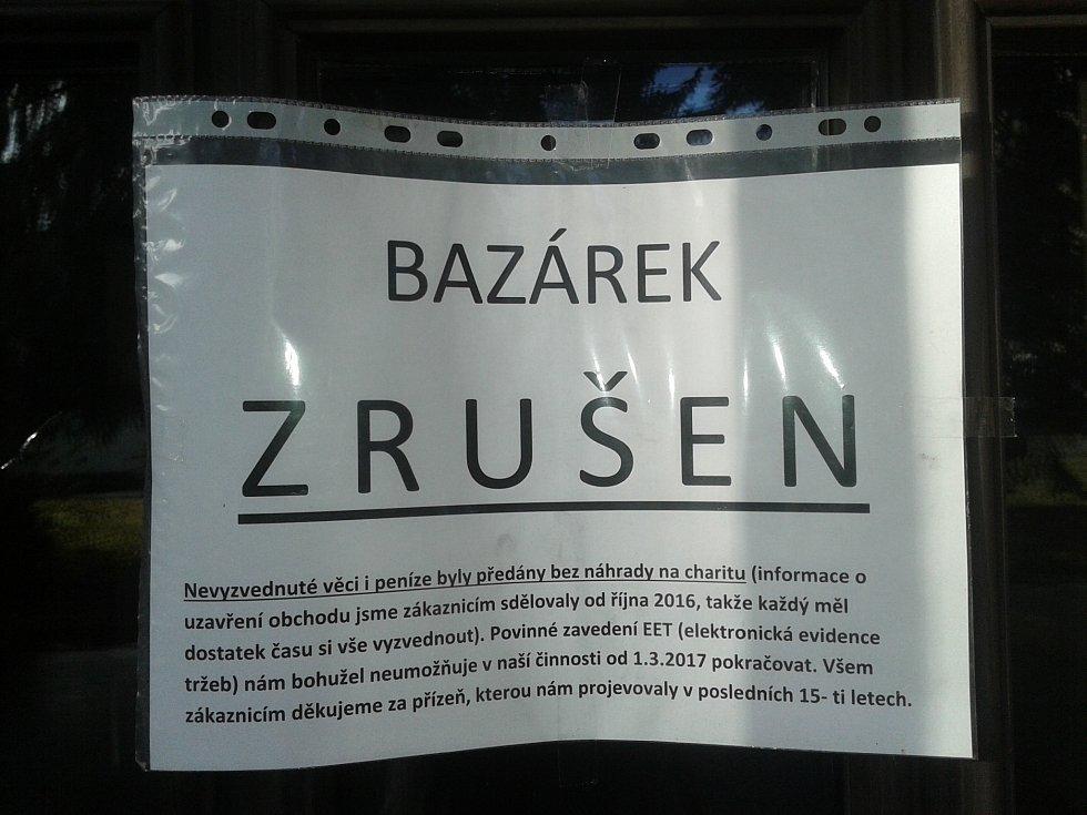 Od 1. března zavřely některé obchody v Klatovech kvůli druhé vlně EET.