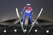 Roman Koudelka. Skoky na lyžích - střední můstek. Alpensia Ski Jump Centre. Pchjongčchang.
