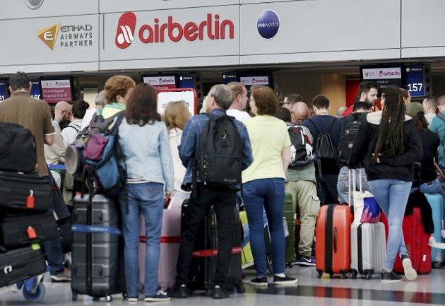 Air Berlin zrušil většinu letů