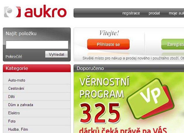 www.aukro.cz