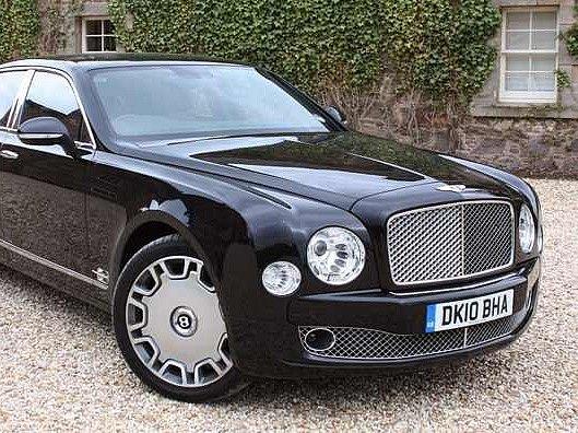 Luxusní Bentley Mulsanne