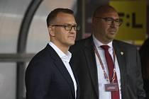 Spolumajitel pražské fotbalové Sparty Daniel Křetínský