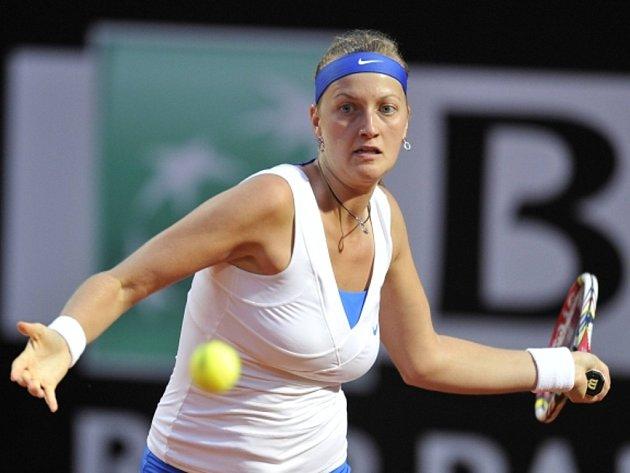 Petra Kvitová na turnaji v Římě.