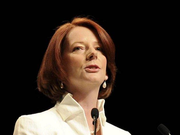Australská premiérka Julia Gillardová
