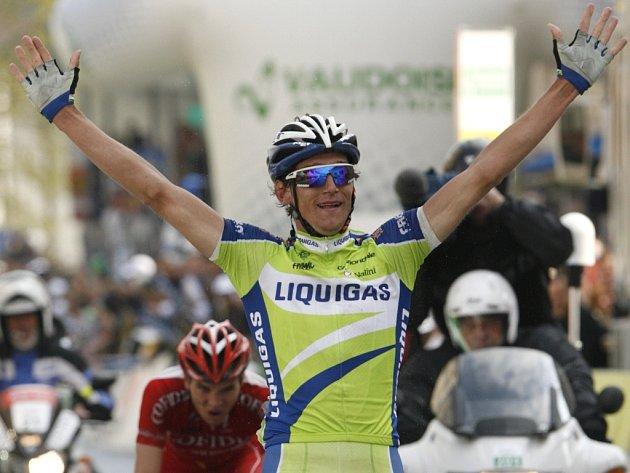 Český cyklista Roman Kreuziger vyhrál závod Kolem Romandie.
