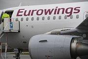 Letadlo Eurowings, ilustrační foto