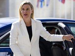 Šéfka evropské diplomacie Federica Mogheriniová.