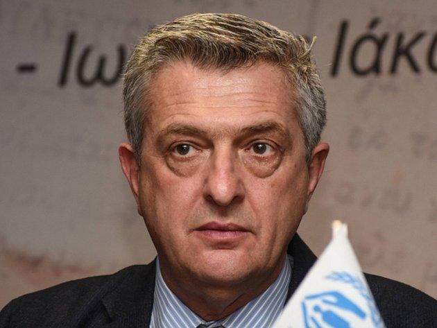 Komisař OSN pro uprchlíky Filippo Grandi.
