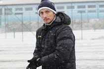 Asistent trenéra Slovácka Michal Kordula na zahájení zimní přípravy.