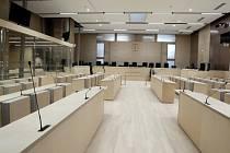 Soudní síň, která byla vybudovaná jen pro líčení s teroristy z Francie.