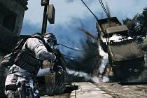 Počítačová hra Ghost Recon Future Soldier.