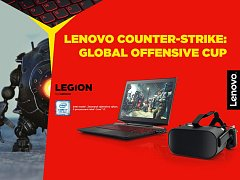 Turnaj Lenovo Counter Strike: Global Offensive Cup.