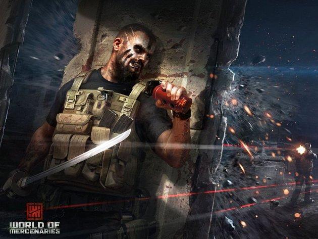 Počítačová hra World of Mercenaries.