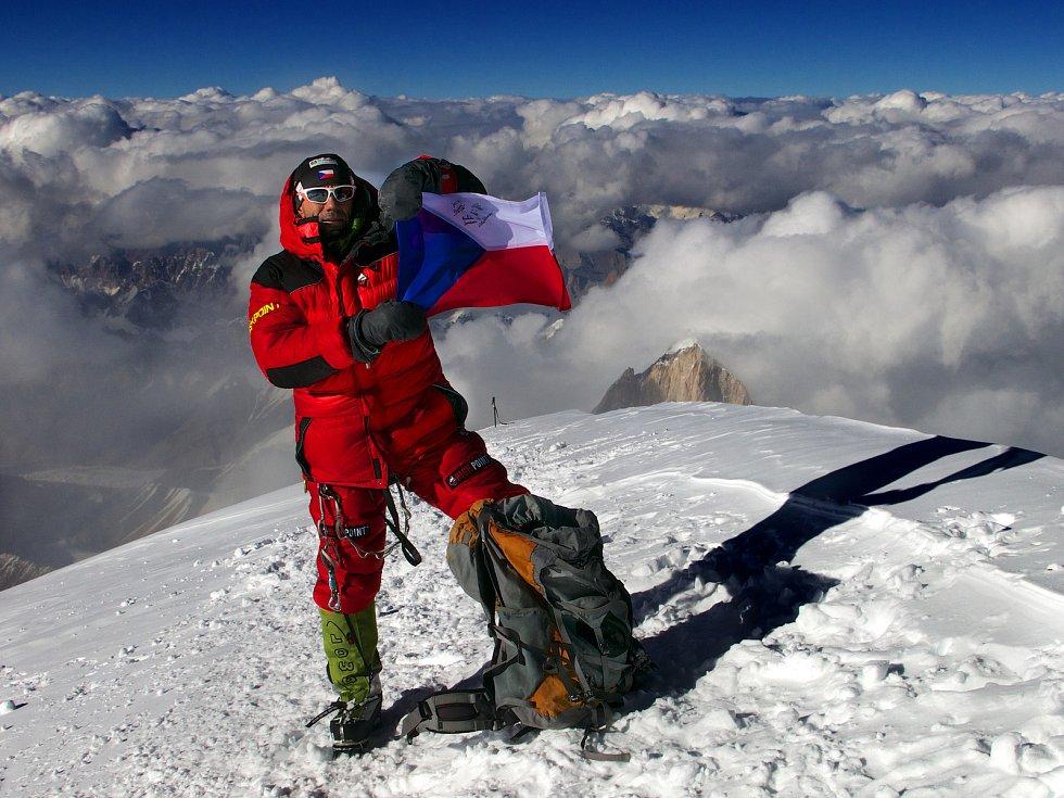 Radek Jaroš je držitelem Koruny Himálaje i Koruny světa.
