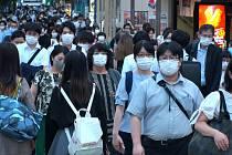 Japonci v době pandemie covidu.