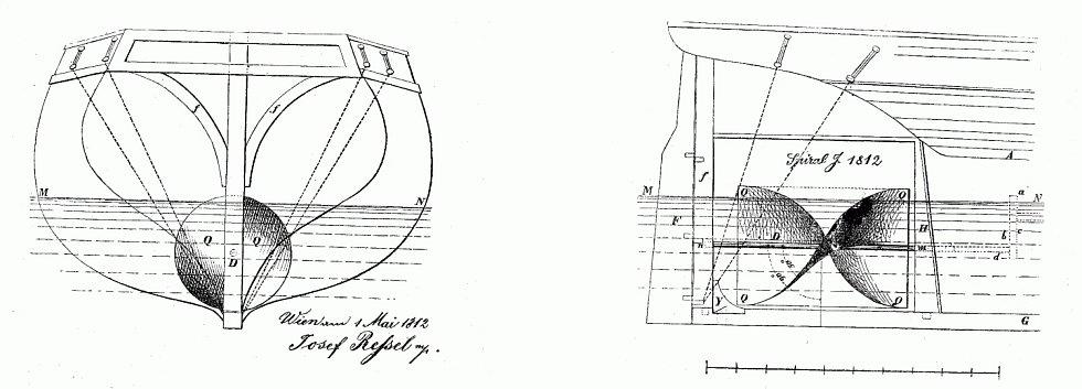 Josef Ressel, vynálezce česko-německého původu, se proslavil především vynálezem lodního šroubu.