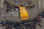 Kobe Bryant se rozloučil s kariérou. Uctili ho i v Číně