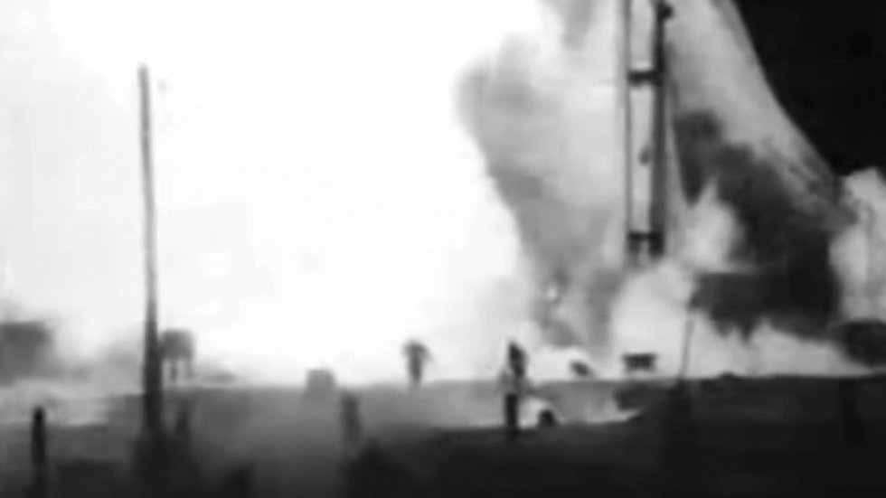 K explozi došlo 24. října 1960