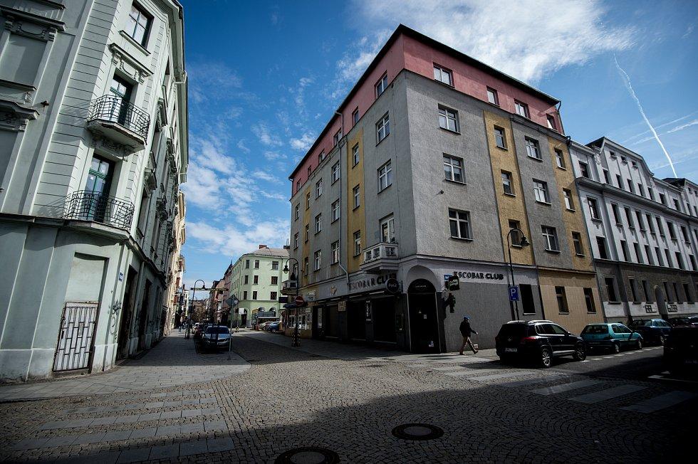 Ulice Stodolní, 4. března 2019 v Ostravě.