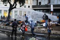 potíže s uprchlíky v Římě