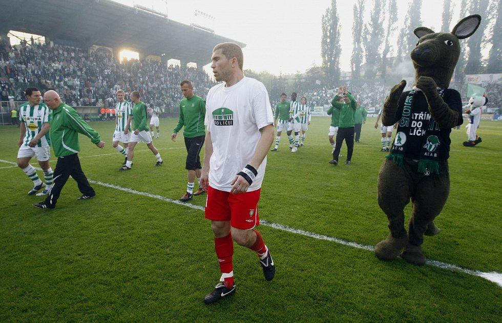 Radek Sňozík v dresu pražských Bohemians (sezona 2009-2010)