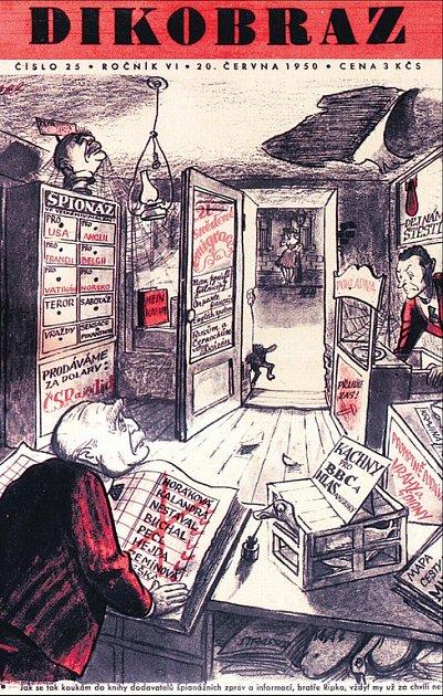 Hyenismus. O cynickém pseudohumoru svědčí dodnes karikatury z časopisu Dikobraz.