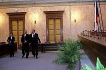 Jednací síň Ústavního soudu