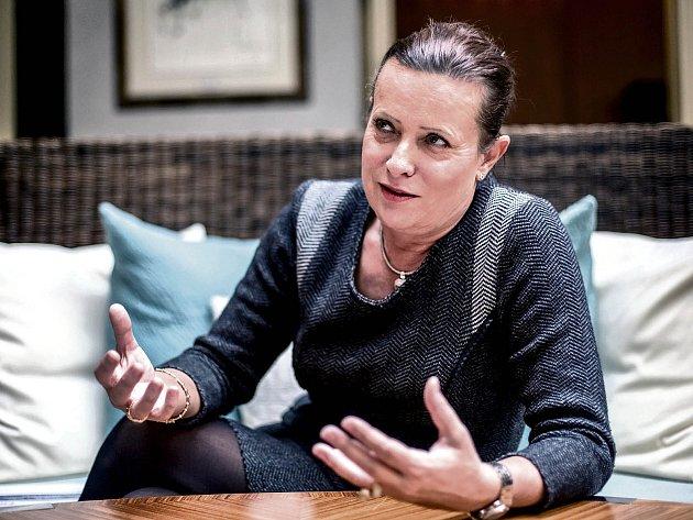 Předsedkyně Energetického regulačního úřadu Alena Vitásková.