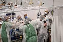 Covidová nemocnice v Brazílii