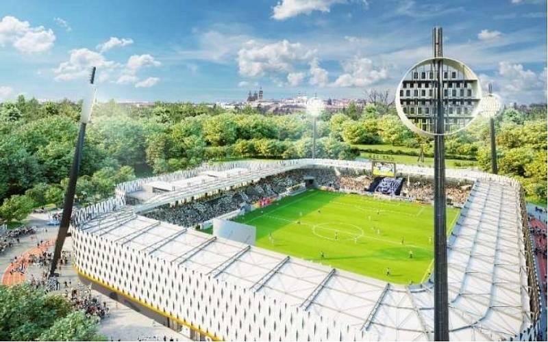 Nejmodernější fotbalový stadion by už brzy mohl vyrůst v Hradci Králové. Po letech plných peripetií už se fanoušci těší na nový chrám