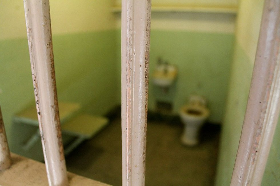 Současný vzhled typické cely v alcatrazském vězení