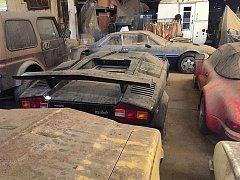 Vince Hernandez tvrdí, že našel opuštěnou sbírku nejen sportovních aut.