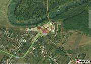 Rumunská strana hraničního přechodu do Moldavska Sculeni