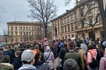 Protestní akce v Brně