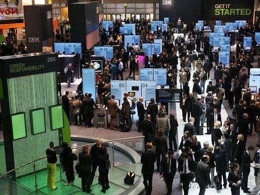 Největší světová přehlídka novinek v informačních technologiích CeBIT v německém Hannoveru