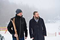 Ředitel TMR pro ČR Čeněk Jílek s libereckým primátorem Tiborem Batthyánym