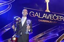 Josef Hušbauer byl vyhlášen nejlepším hráčem nejvyšší fotbalové soutěže.