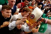 Oktoberfest v Mnichově - ilustrační foto
