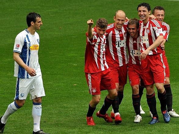 Bayern si připsal další výhru a titul má jako na dlani.