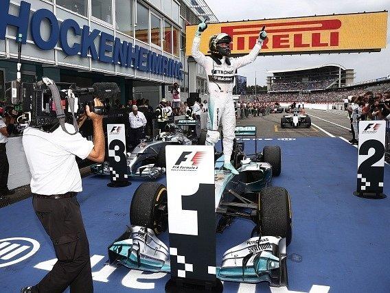 Velká cena Německa. Nico Rosberg vyhrál