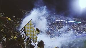 Fotbaloví fanoušci. Ilustrační snímek